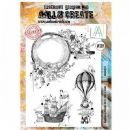 AALL and Create Clear A4 Stamp Set #319- Magnify It by Bipasha BK